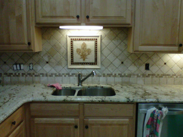 Tile Designs With Granite Countertops | Charlotte NC    Http://www.fireplacecarolina