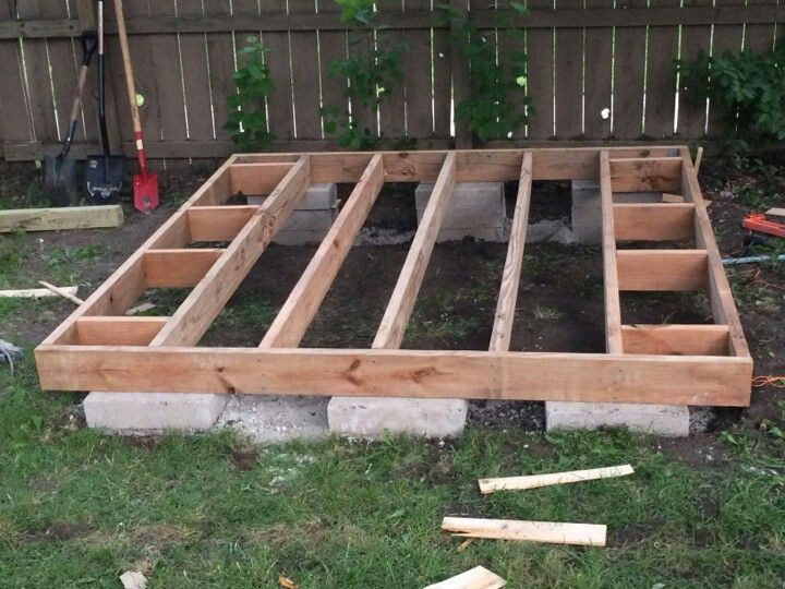 floating shed floor - Google Search