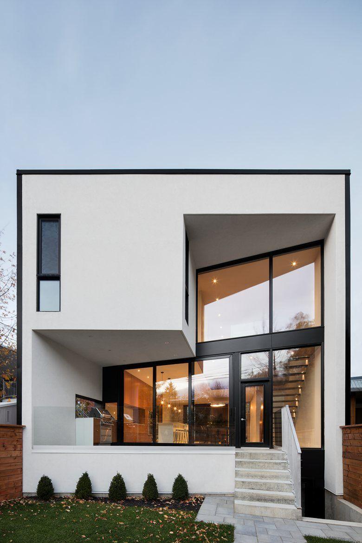Architektonische Interpretation Der Modernen Kubusform Als Zuhause