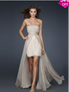 Sheath/Column Strapless Chiffon Prom Dresses #USAZT232 - See more at: http://www.avivadress.com/special-occasion-dresses/homecoming-dresses/high-low-homecoming-dresses.html?p=2#sthash.vKuZxqd4.dpuf