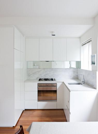 A E Maximising Renovation Of Small Isolated Apartment Kitchen