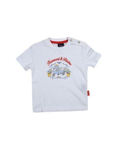 HARMONT&BLAINE Girl's' T-shirt White 12 months