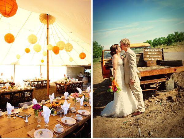 Organic Farm Wedding