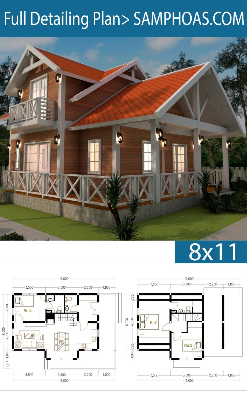 12 Story House Plan 12x12m With 12 Bedrooms – SamPhoas Plan  Wooden