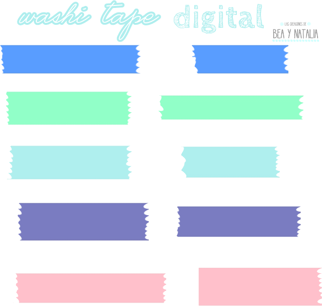 Solid Colors Digital Washi Tape Washi Tape Printables Freebies Washi