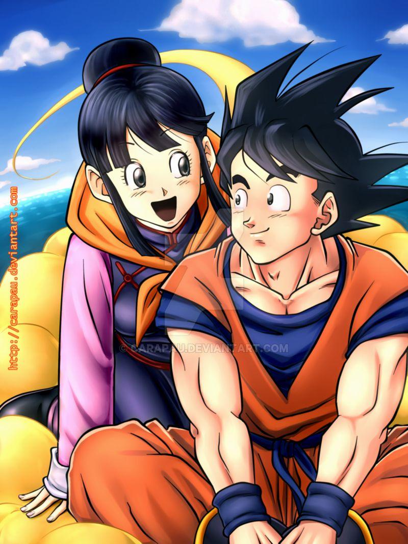 Pin On Goku And Chi Chi