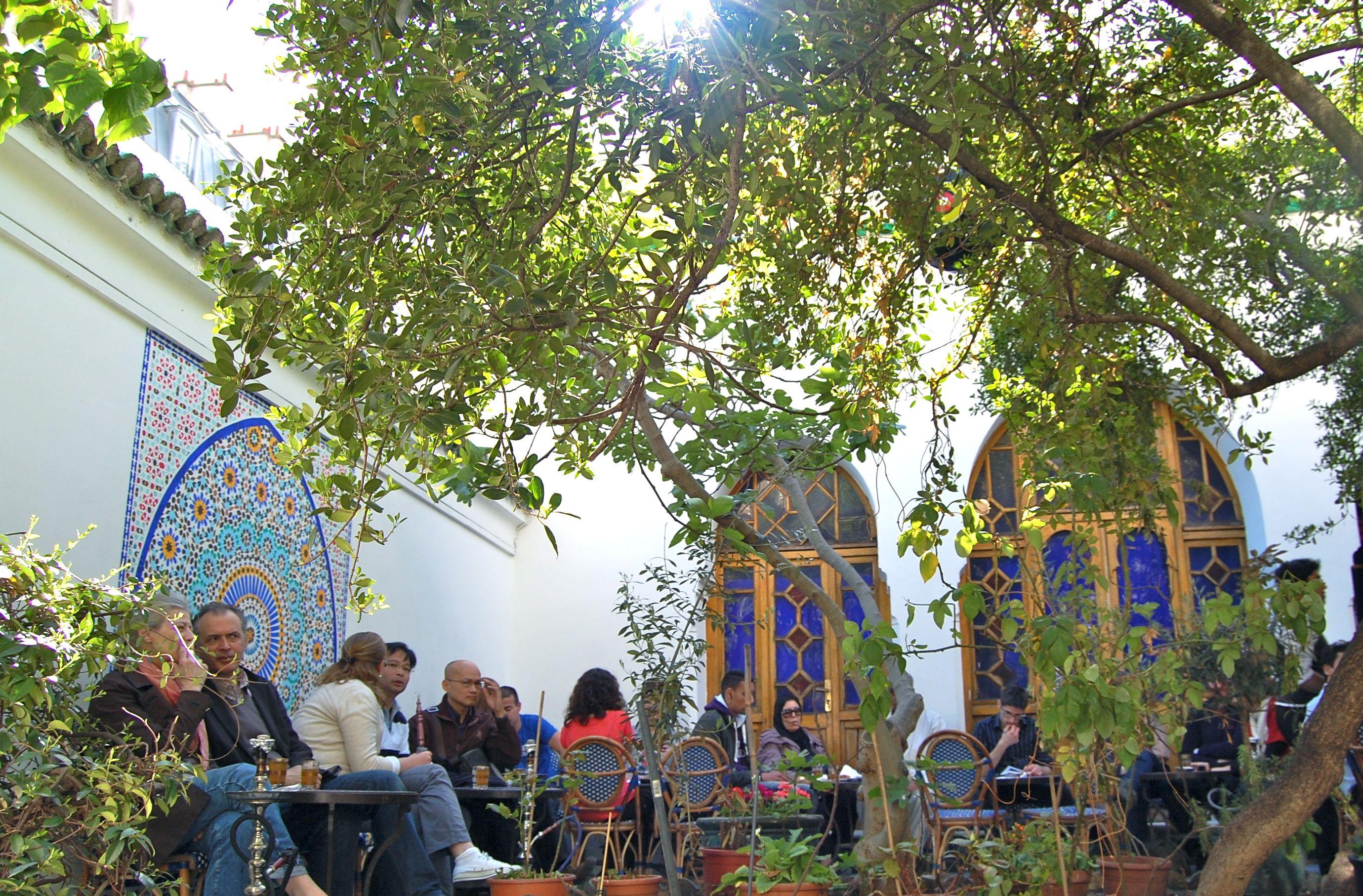d0e1849eda34 Restaurant - Salon de thé de la Mosquée de Paris - Evous   PARIS ...