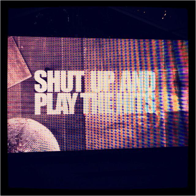 Shut up and play the hits, super docu sur le dernier concert des mythiques #LCDSoundsystem présenté par #Sosh hier. #sundance