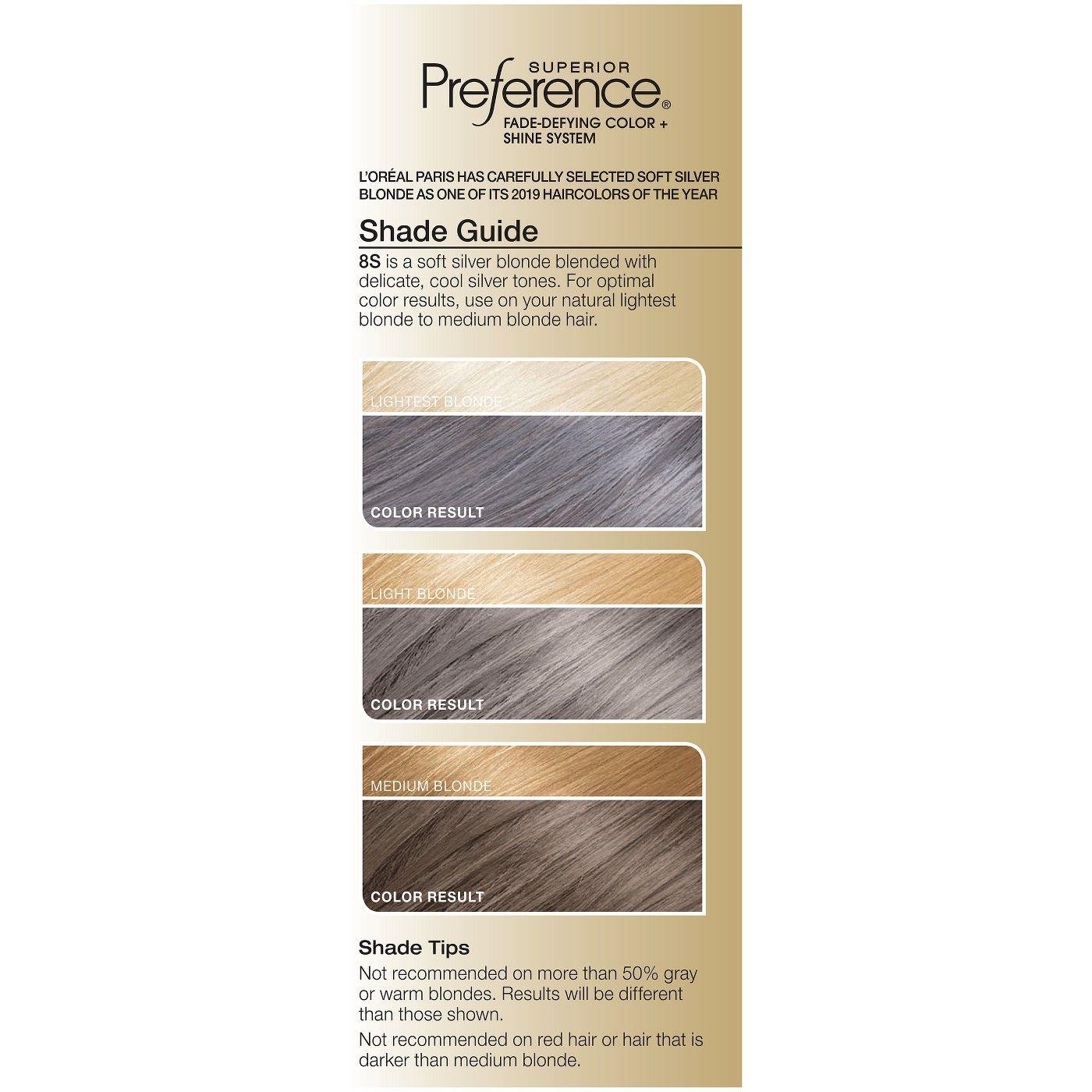 L Oreal Paris Superior Preference Permanent Hair Color 6 5 Fl Oz Permanent Hair Color Hair Color Medium Hair Color