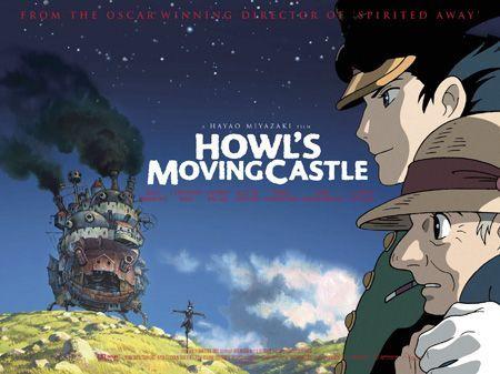 Howl S Moving Castle 2004 Howls Moving Castle Howl S Moving Castle Movie Animated Movie Posters