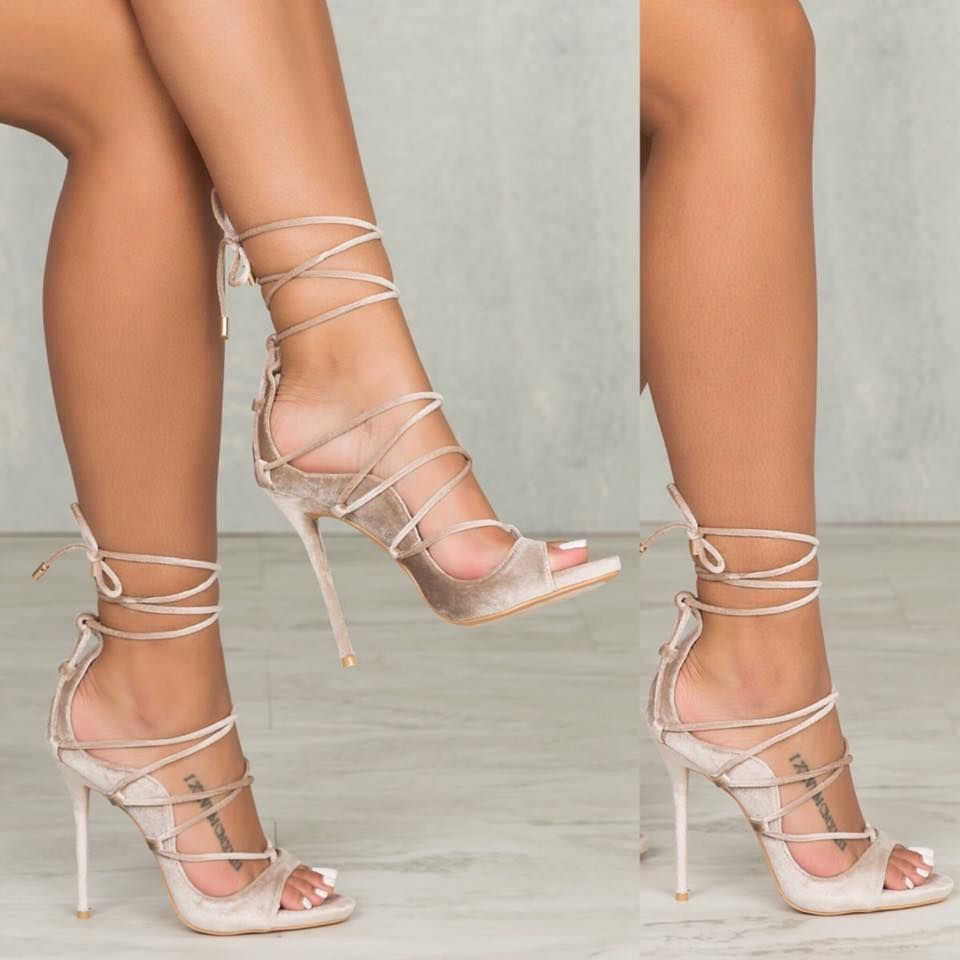 Cheap dress sandals, Buy Quality dress sandals women directly from China  fashion sandals women Suppliers: Groovy Cut-out Lace Up Stiletto Heel Dress  Sandals ...