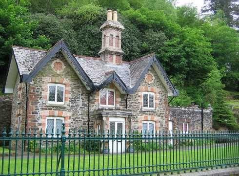 The english storybook cottage stone house proud for English stone cottage plans