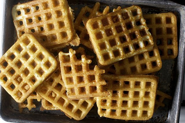 Essential Raised Waffles By Smittenkitchen Arguably The Only Waffle Recipe You Ll Ever Need Make The Batter Th Waffle Recipes Smitten Kitchen Yummy Breakfast