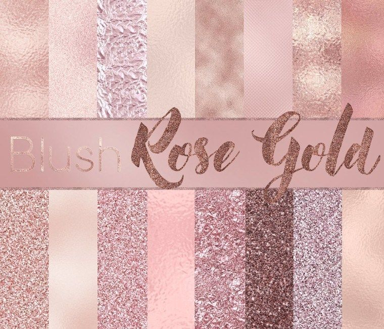 Free Blush Rose Gold Textures With Images Rose Gold