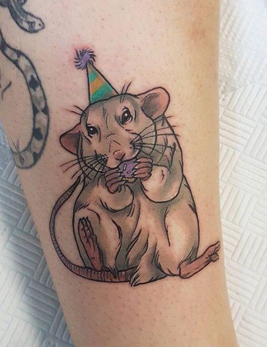 Rattiepoo Rat Tattoo Tattoo Trends Flower Tattoos