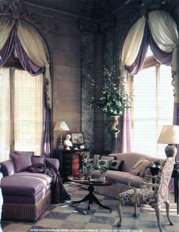 Beautiful Arch Window Treatment I N S P I R E D