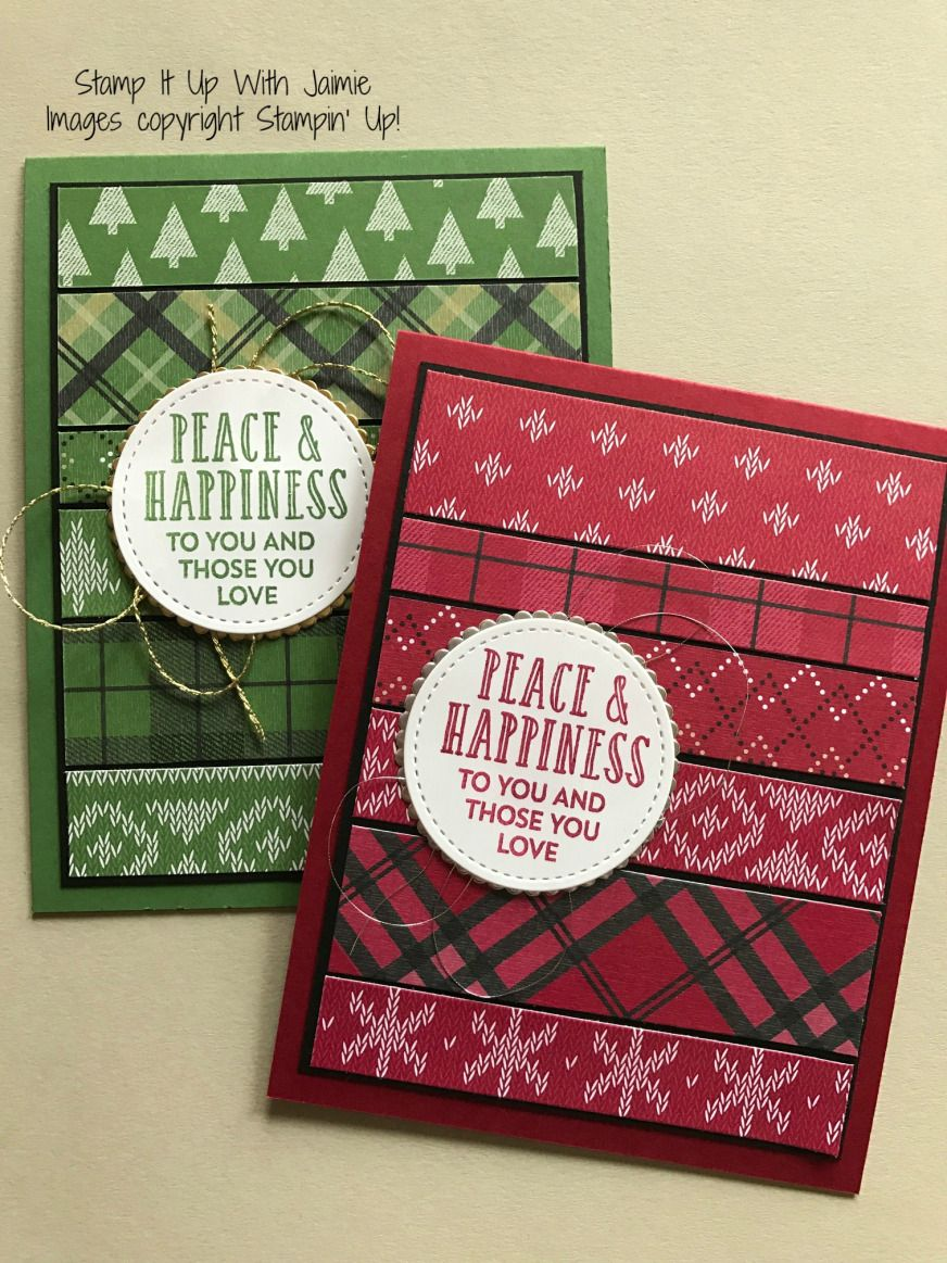 Merry Christmas Stampin up christmas cards, Cheers card