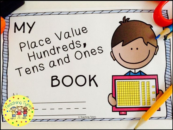 Place Value Hundreds Tens Ones Interactive Book Expanded Form