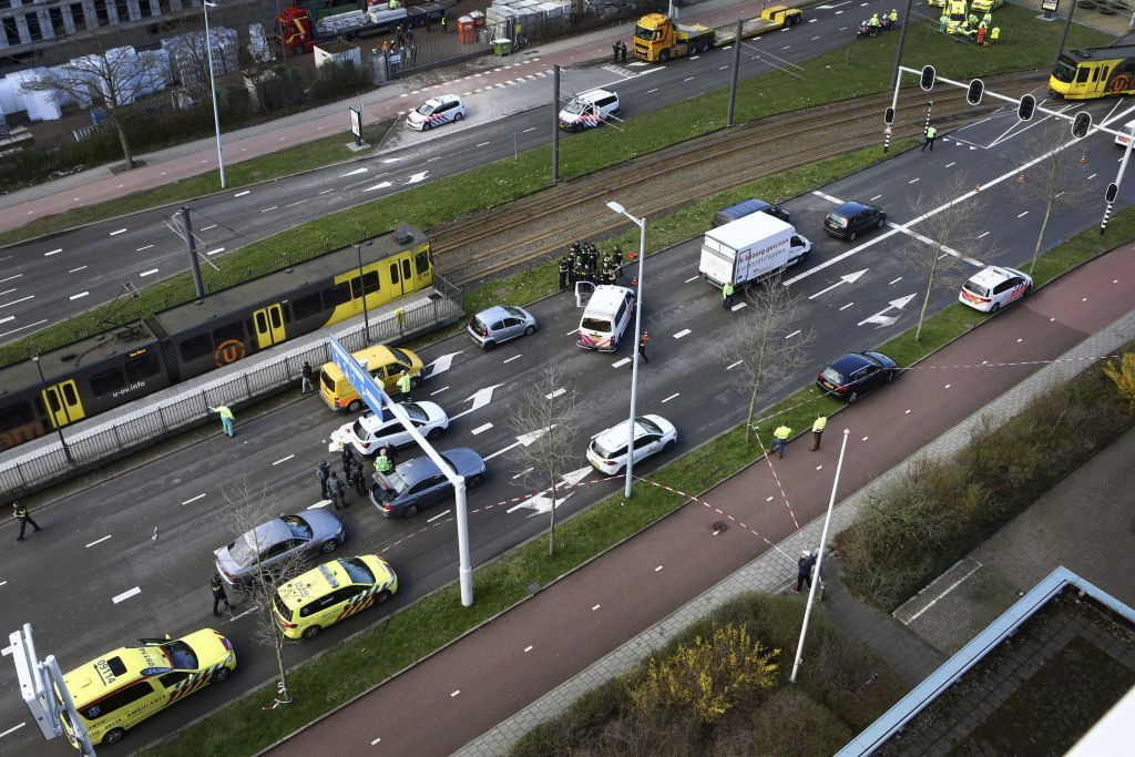 Gunman Opens Fire on Tram in Netherlands at Least One Dead