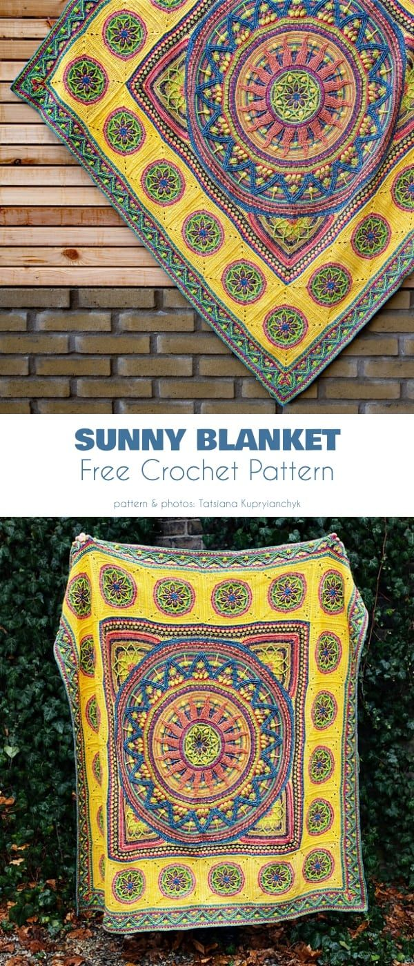 Sunny Project Free Crochet Patterns – Löwenzahn