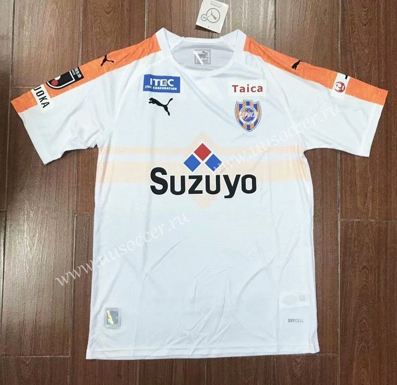 baf1ab418 2019-20 Shimizu S-Pulse Away White Thailand Soccer Jersey AAA-417 ...