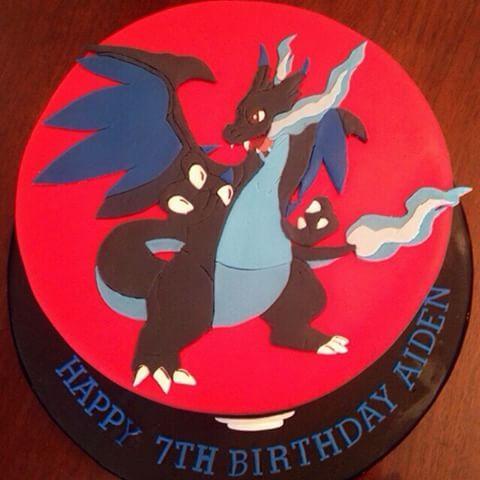 Charizard Cake Google Search Birthday Cake Ideas In