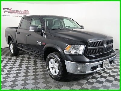 2016 Ram 1500 Outdoorsman 4 4 V6 Ecodiesel Crew Cab Truck For Sale Trucks For Sale Crew Cab Trucks