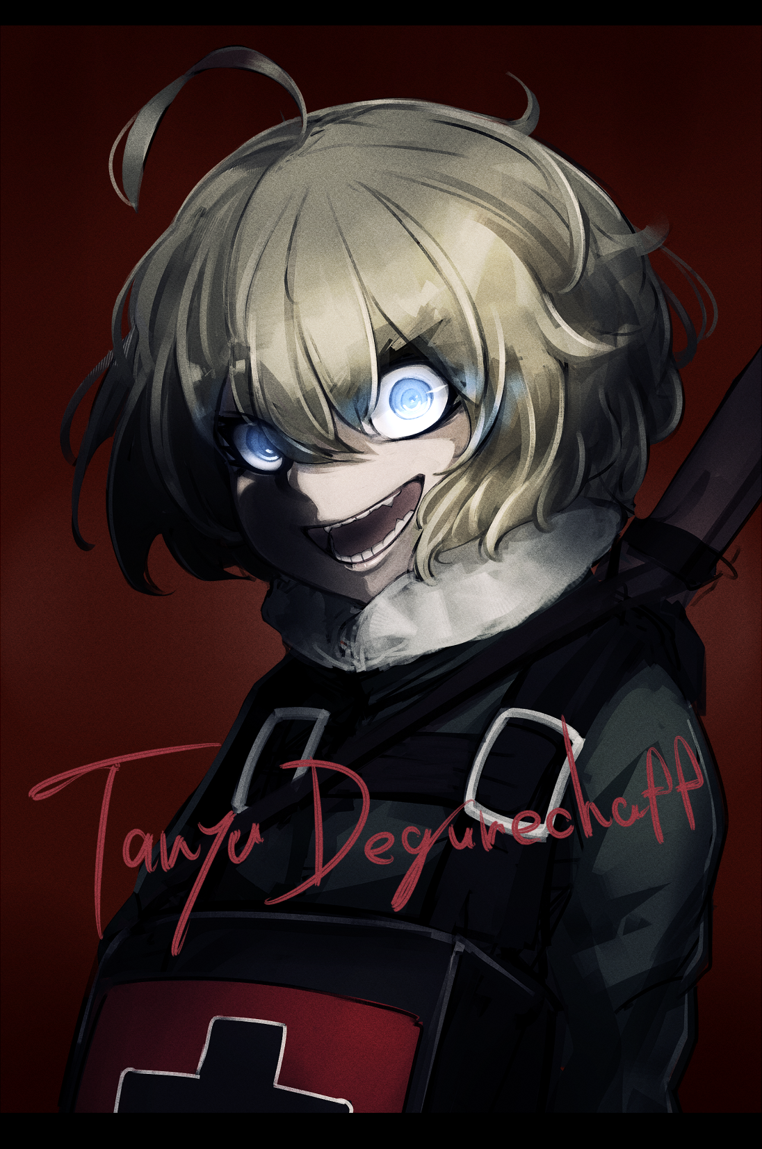 Deus lo vult tanya degurechaff scary characters anime characters manga artist tanya