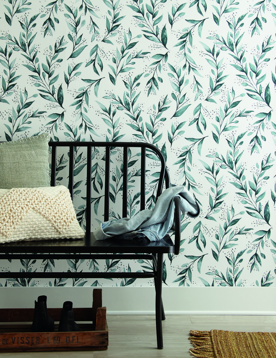 York Wallcoverings ME1536 Magnolia Home Vol. II Olive