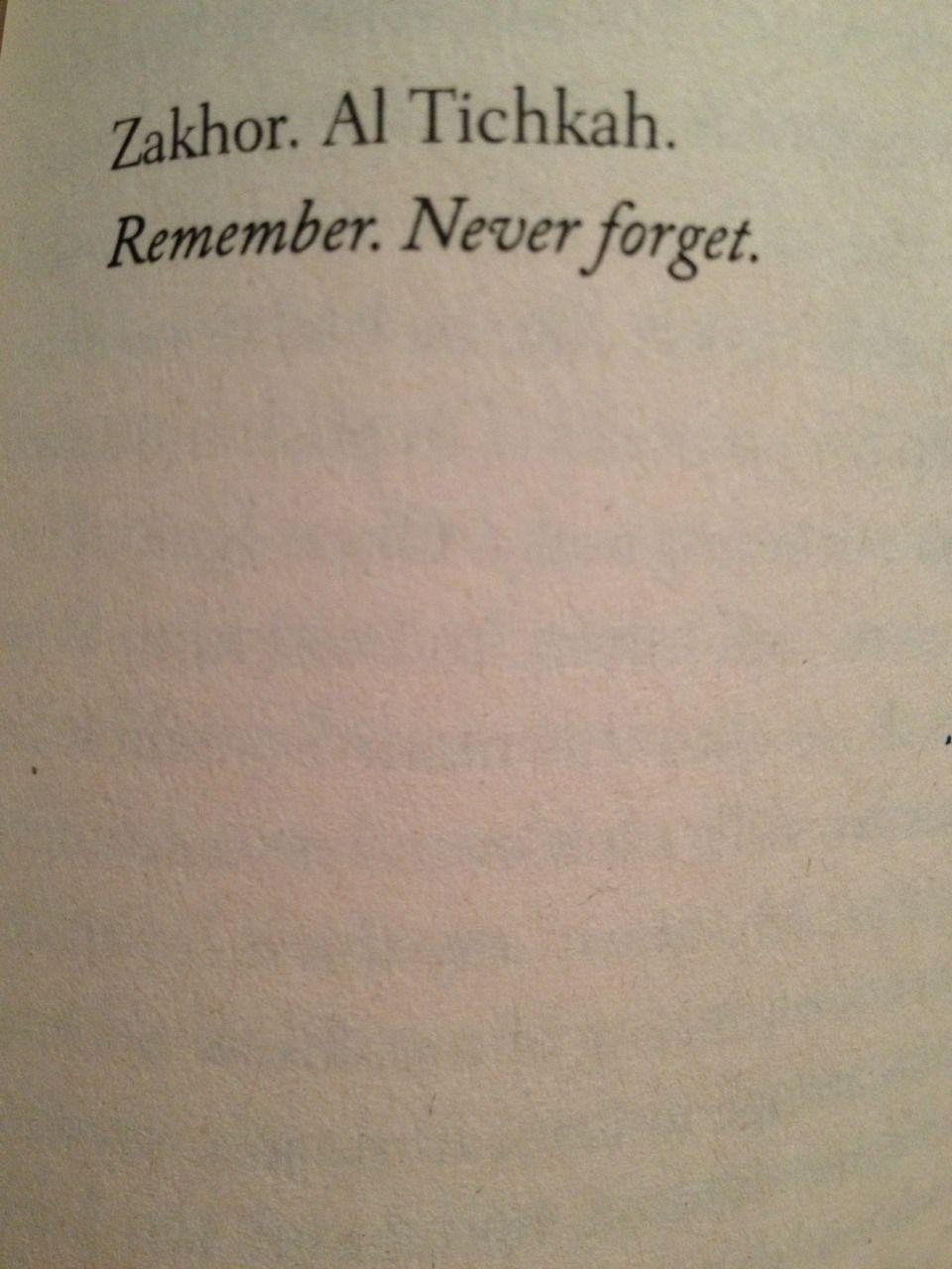 Favorite quote from my favorite book: \u201cSarah\u0027s Key\