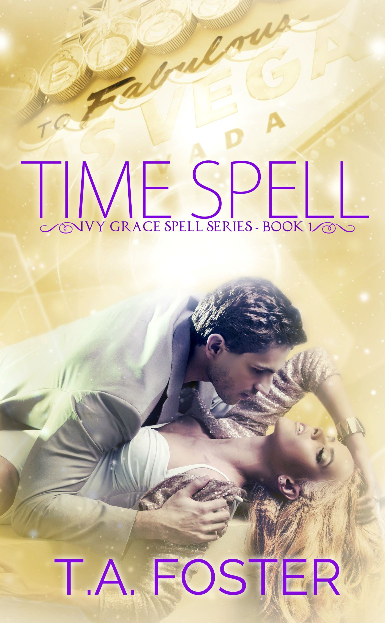 New time spell cover book one in the ivy grace spell