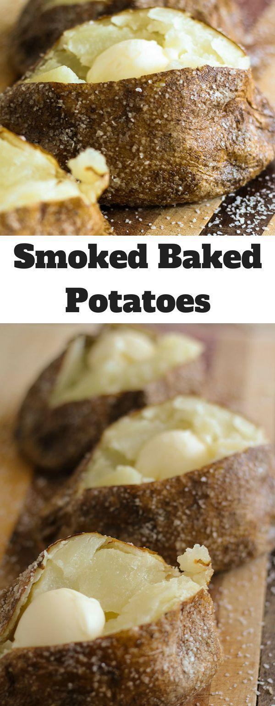 Smoked Baked Potatoes - Tony In The House