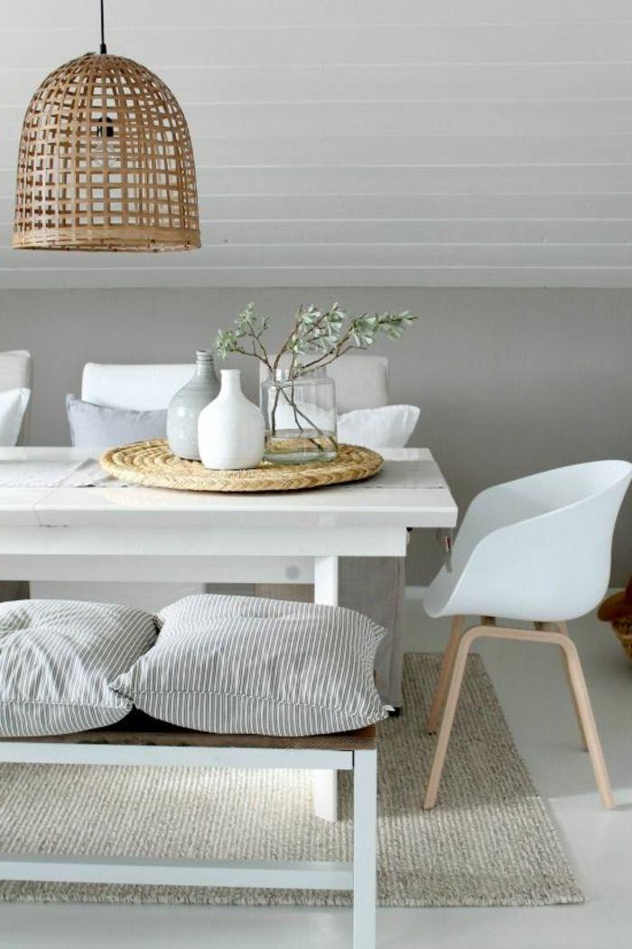 Chaises contemporaines salle manger contemporaine avec for Meuble salle À manger avec chaise contemporaine blanche