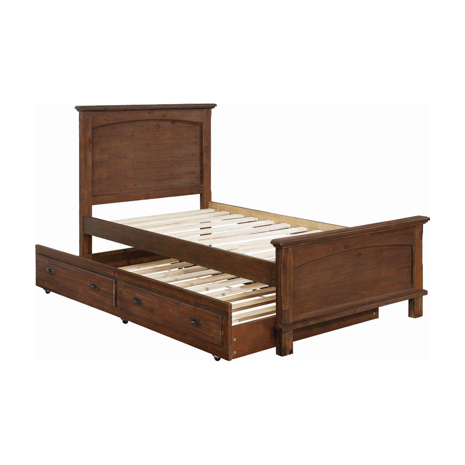 Coaster Furniture Kinsley Platform Bed With Optional Trundle En 2020
