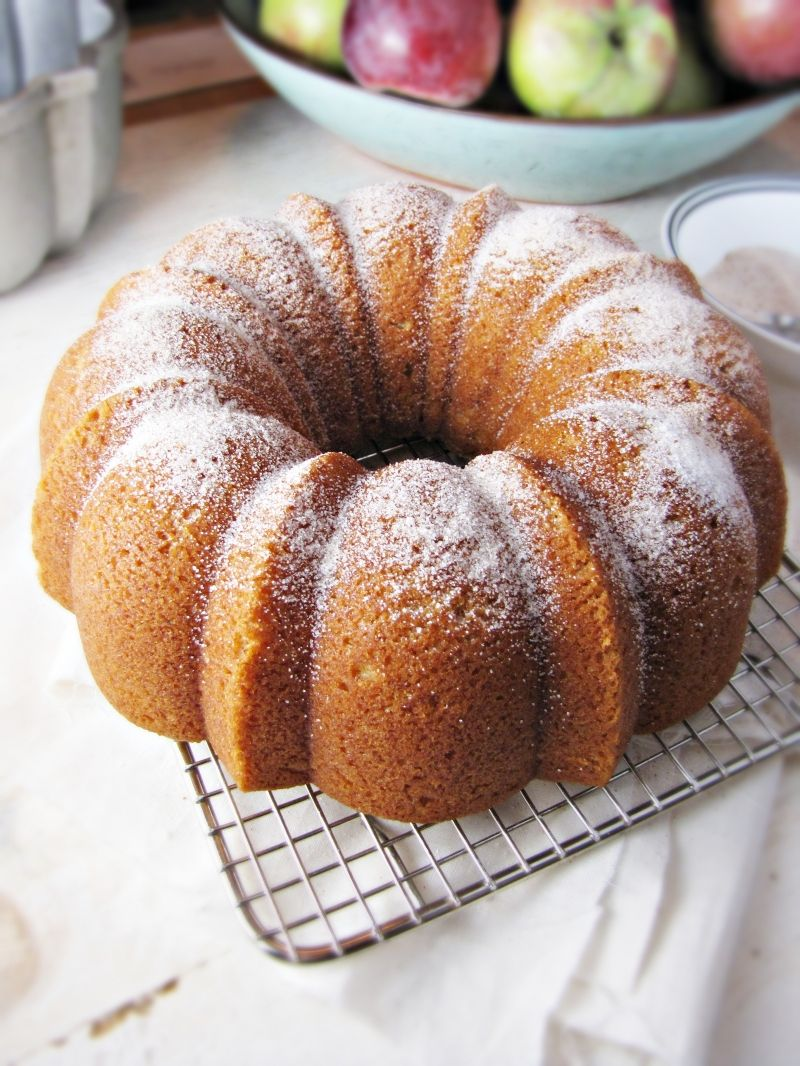 Cooking Fall & Apple Cider Doughnut Cake - Katie at the Kitchen Door
