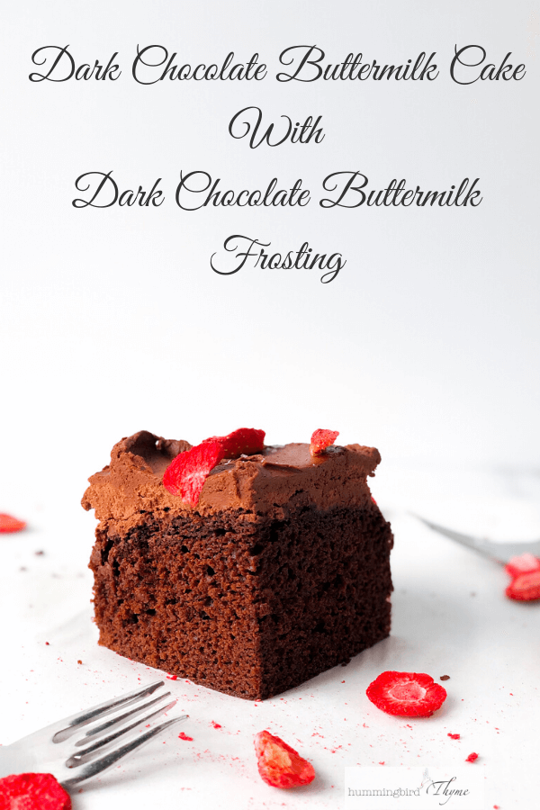 Chocolate Cake With Chocolate Buttermilk Frosting In 2020 Cake Recipes Chocolate Recipes Buttermilk Frosting