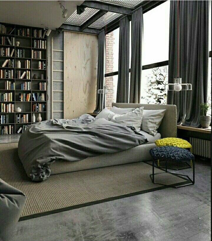 Industrial Loft Style Designed by Ruslan Kovalchuk