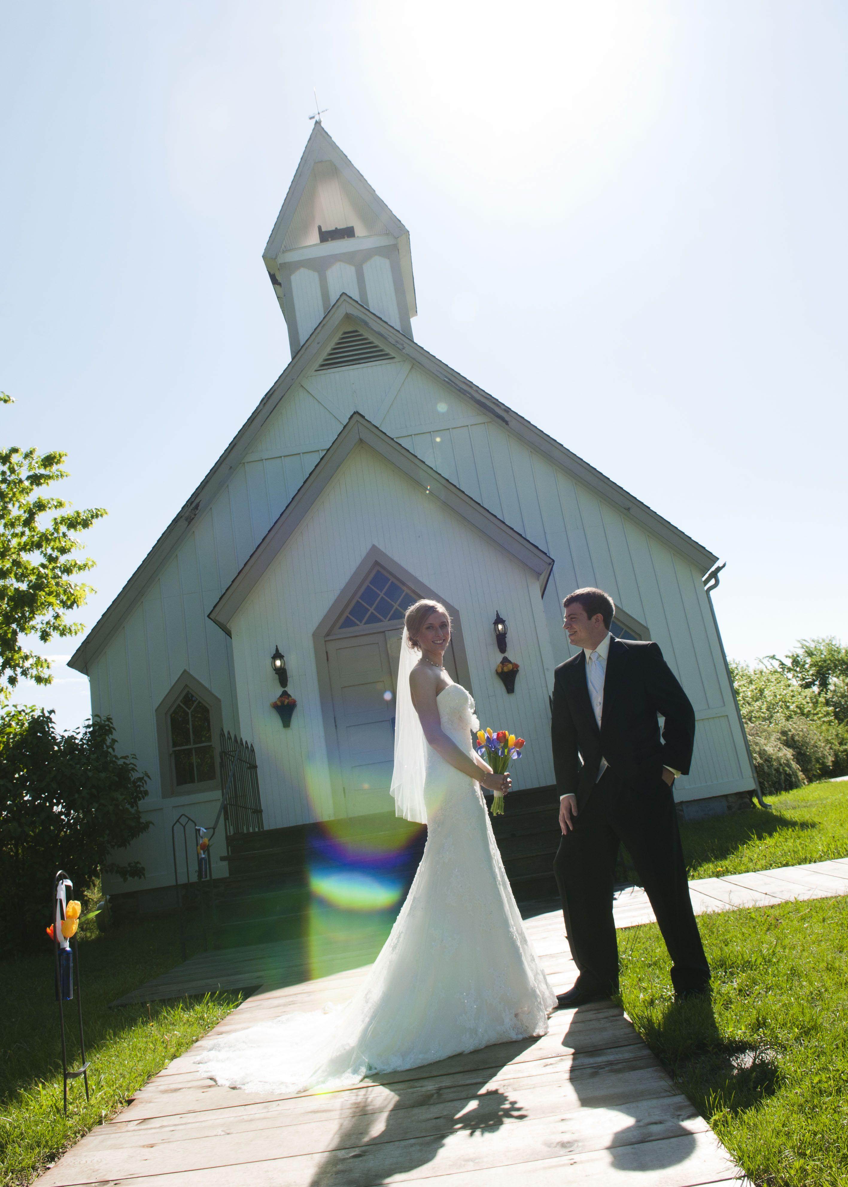 Wedding Photo Shoot At Living History Farms