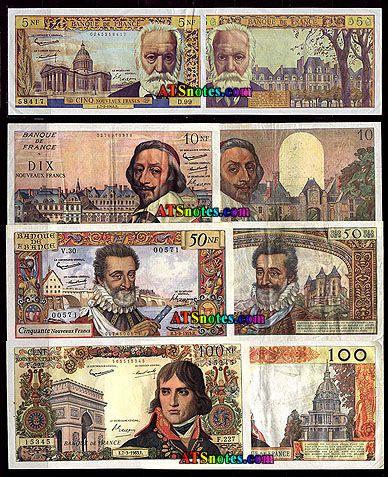 France Money | World Paper Money Catalog and History | world