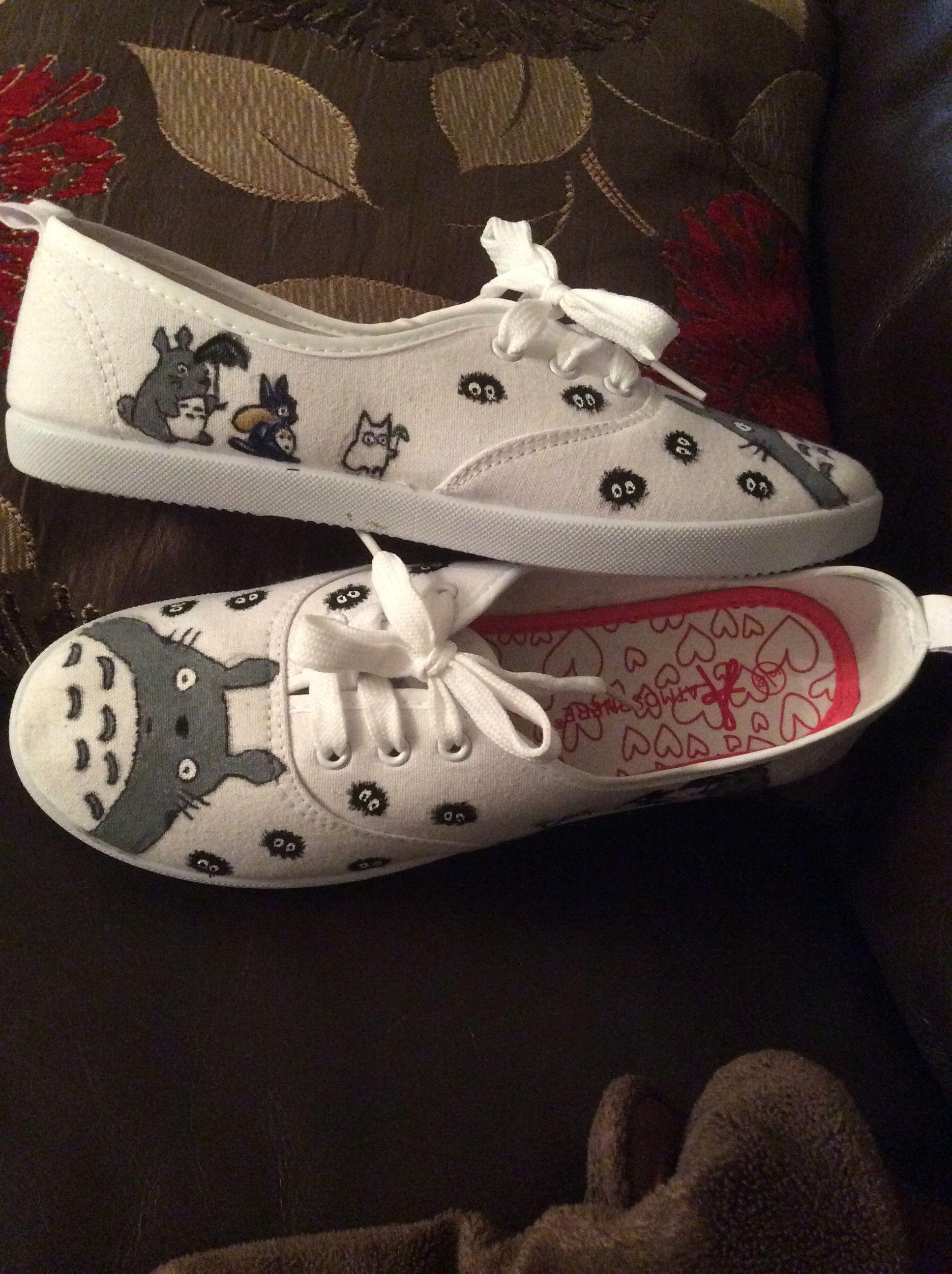 Studio Ghibli handbemalte Schuhe Serie Totoro von