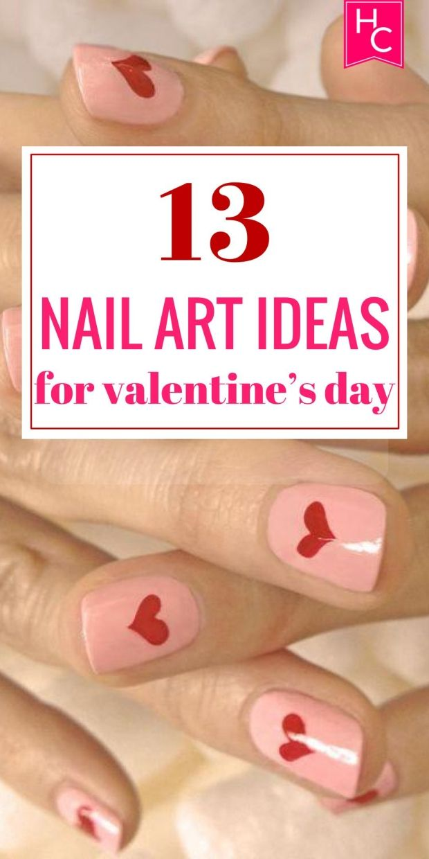 13 nail art ideas for valentines day mani pedi pedi and beauty nails 13 nail art ideas for valentines day solutioingenieria Images