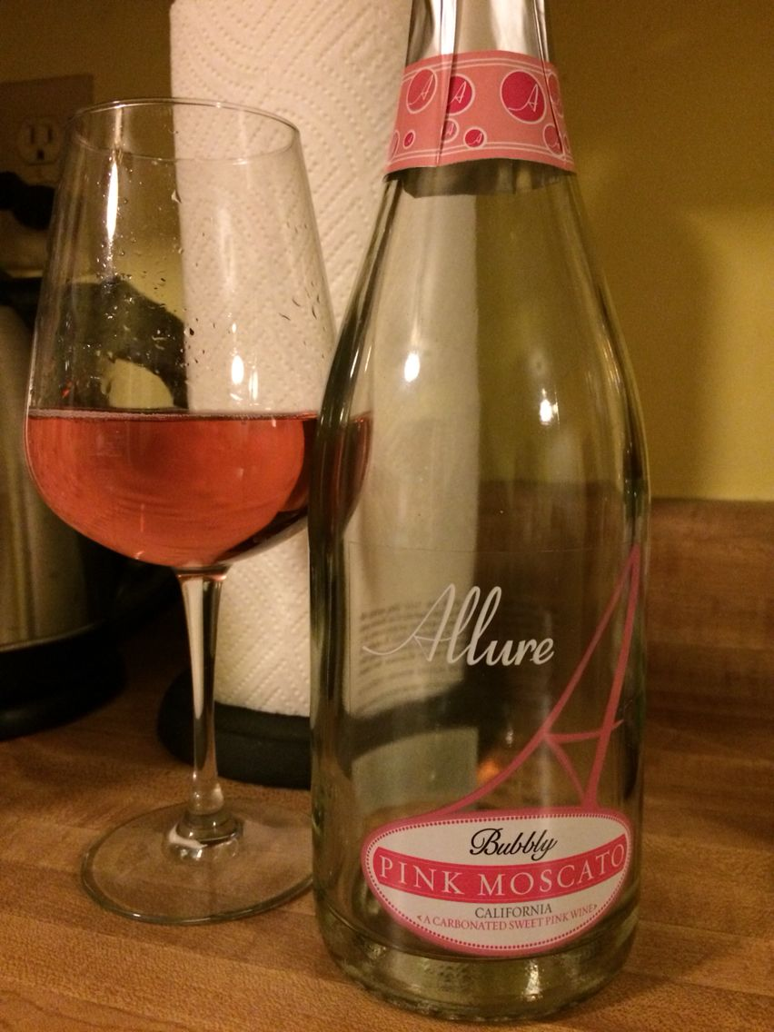 Allure Pink Moscato just tried this last night it was the best moscato I