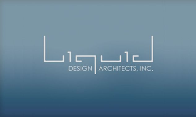 liquid design architects logo inspiration gallery, visual identity