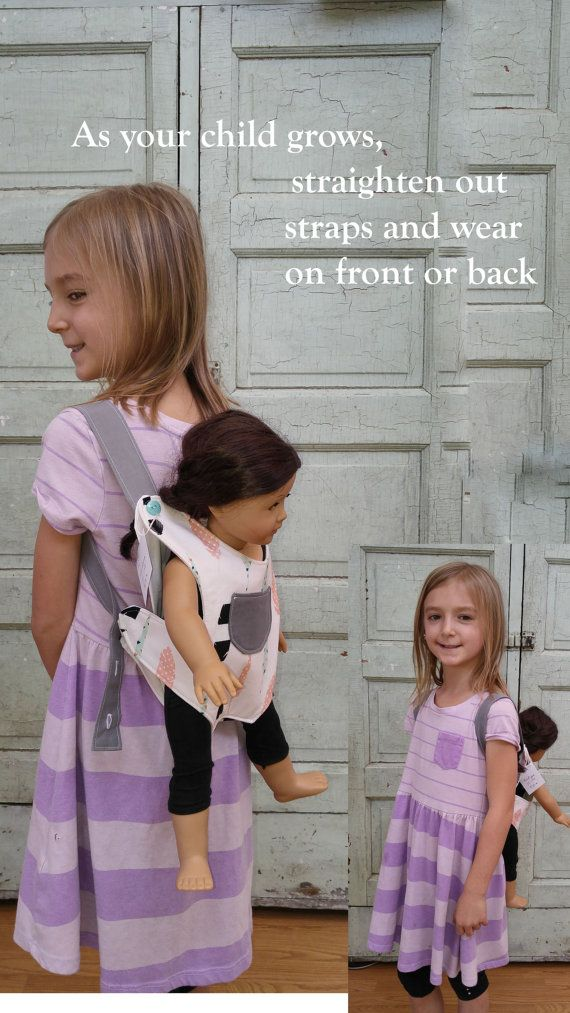 Baby Doll Carrier Stuffed Animal Carrier Kid Toddler Big