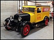 1928 Ford Model A Coca-Cola Truck   Built-In Ice Box, Hand Painted Signs