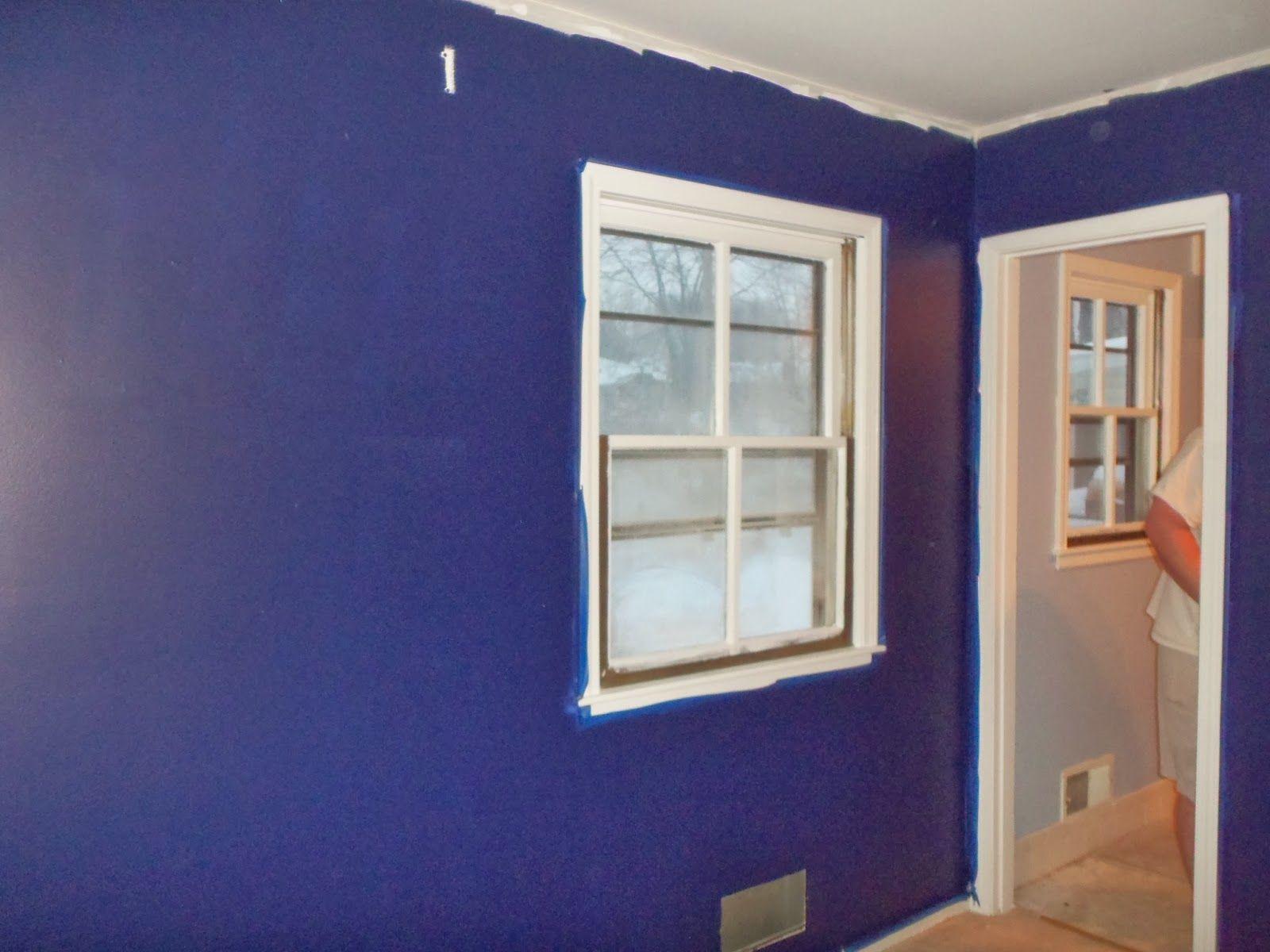 Master Bedroom Remodel Painted Walls Midnight Navy By Benjamin Moore Bat Remodeling Bathroom