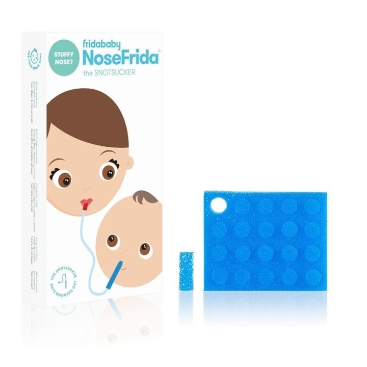 how to use nose frida with saline