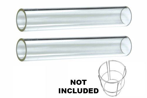 Outdoor Heater Replacement Parts 2pc Glass Tube Replacement For