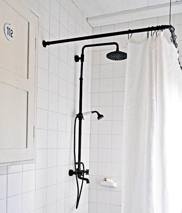 shower curtains bathroom inspiration