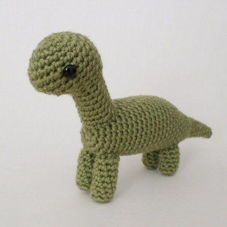 crochet dinos! I dont crochet....yet | Crochet and knitting | Pinterest